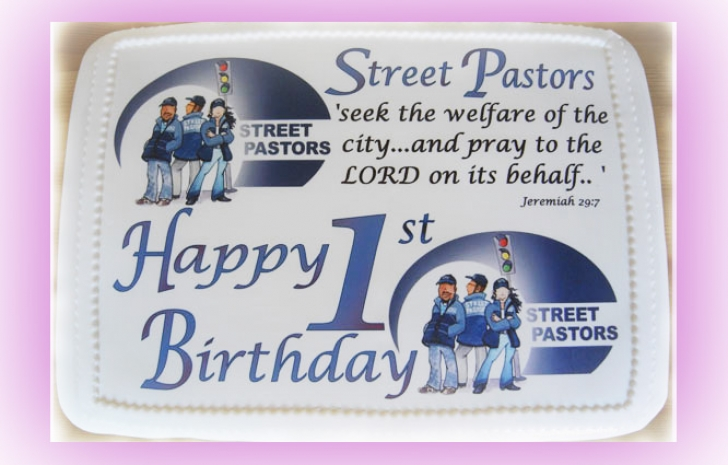 Co Street Pastors 1st Bday